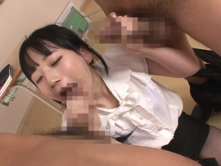 Temptation New Beautiful Teacher During Class Session JAV ✔
