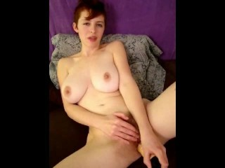 RyAnne Redd - Sexy Redhead With Big Tits, Short Hair, Hairy Pussy - Video 2