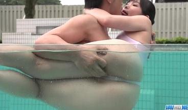 Yui Kasugano welcomes big cock in her - More at javhd net