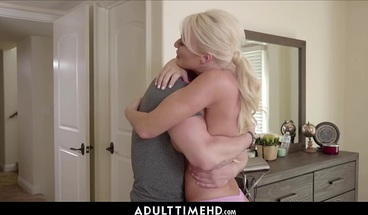 Hot Big Tits MILF Step Mom Lets Lonely Step Son Fuck Her