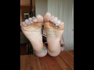 Sexy Tatted Feet - JOI - Therapy Session - Foot Worship