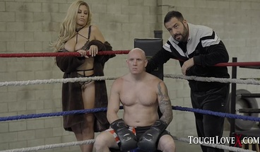 TOUGHLOVEX Father Karl fights for his prize Bridgette B
