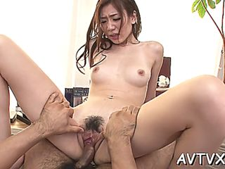 Toying japanese babes hot cunt