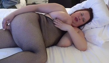 BBW solo and dirty talk.