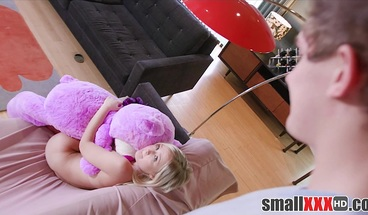 Tiny Blonde Virgin Teen Step Sister Fucked By Step Brother