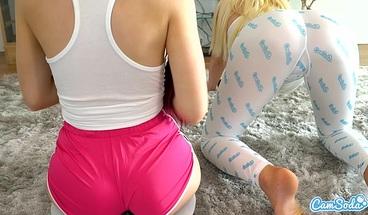 Camsoda - Lesbian Teen getting Her pussy Eaten by hot Stepsis