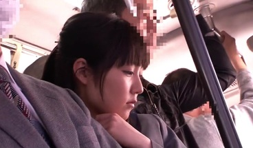 Finesse japan schoolgirl fucked in public bus and on the str
