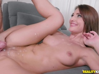 Pulling Out Just In Time For a Huge Belly Cumshot Compilation Vol.1