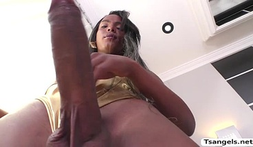 Hot Busty TS Gabriella gets her butthole fucks hard
