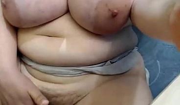 chubby fat big boobs hot bbw masturbation