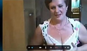 Horny mature cunt on skype
