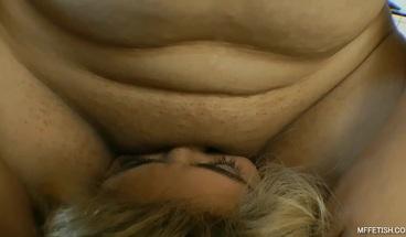 Big ass Brazilian babe Cauanny fucking girl's face