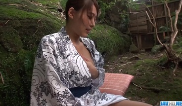 Aroused Aoi Mizuno fucked in outdoor XXX - More at javhd net