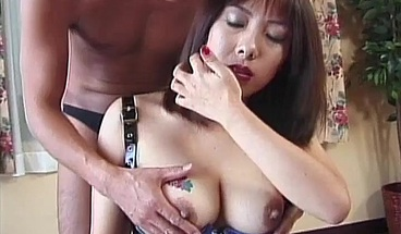 Oily threesomes are her favorite thing