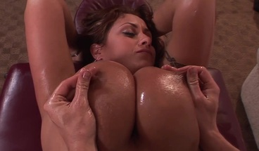 horny MILF with massive tits fucked