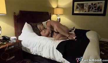 Hot Blonde Wife Spreads Pussy For Fuck Fun With Random Guy
