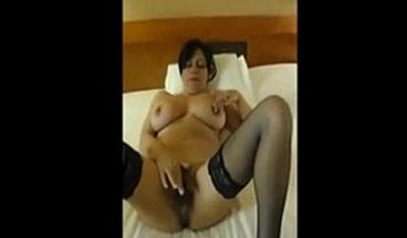 Big boobs & hairy pussy