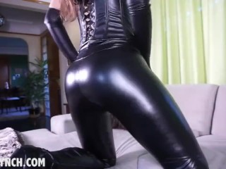 Dirty talking girl takes you to the edge and makes you beg to her JOI