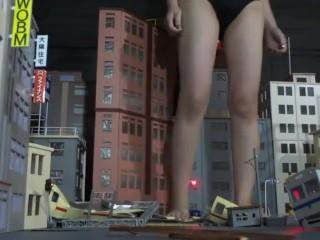 japanese giantess city